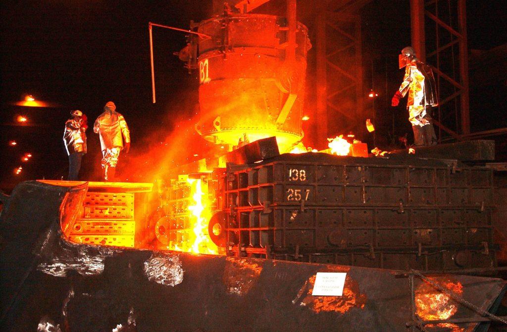 Dies ist eine Übersicht der zehn größten Eisen- und Stahlunternehmen nach Umsatz. Mit TOP10-Tabelle