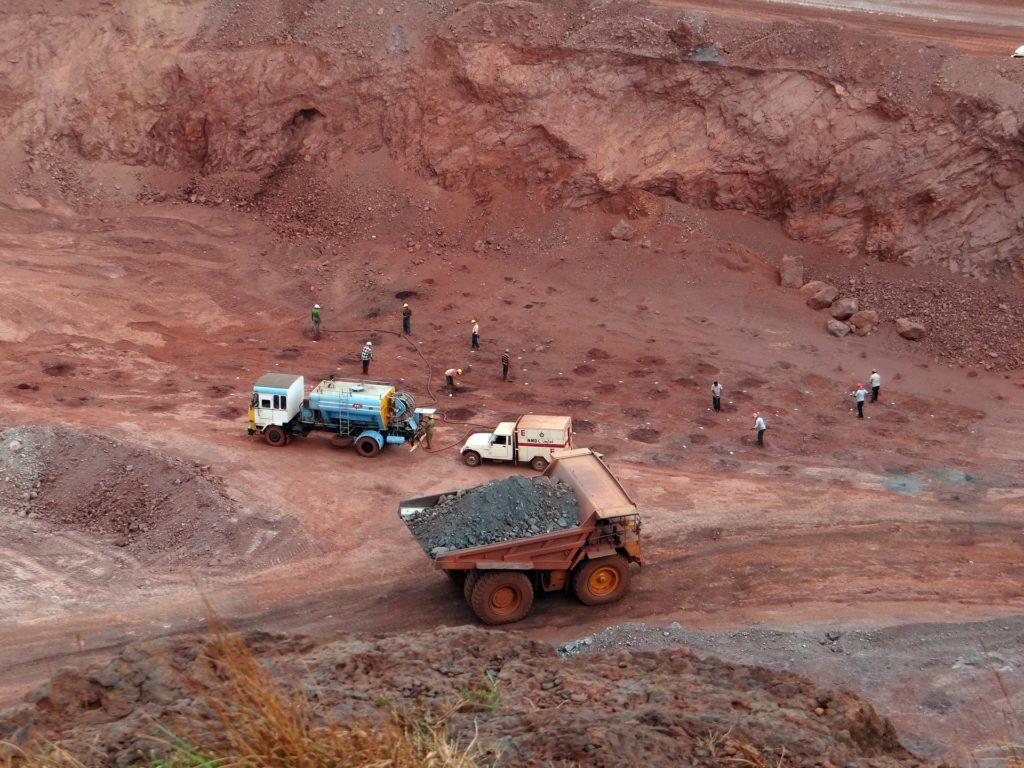 Iron ore mining land TOP10